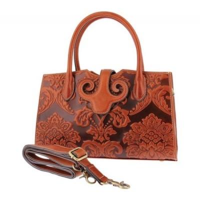 スプリングステップ L'Artiste by Spring Step レディース ハンドバッグ バッグ Lotus Shoulder Handbag Camel