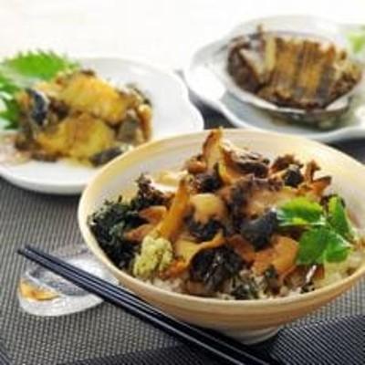 唐津産 天然くろあわび料理3個詰合せ
