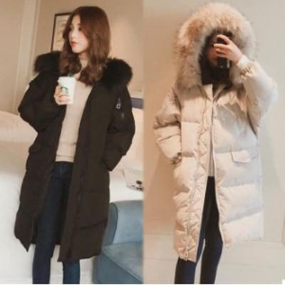 送料無料 レディース ロングコート アウター 中綿コート ダウンジャケット 厚め 暖か 1259