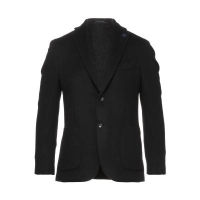 ラルディーニ LARDINI テーラードジャケット ブラック 50 カシミヤ 100% テーラードジャケット