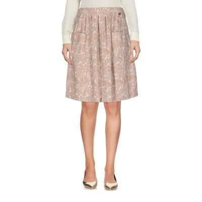ツインセット シモーナ バルビエリ TWINSET ひざ丈スカート ベージュ L 64% ナイロン 31% コットン 5% ポリウレタン ひざ丈スカ
