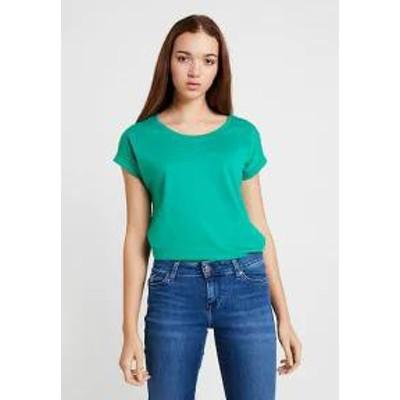 Vila レディーストップス Vila VIDREAMERS PURE - Basic T-shirt - pepper green?