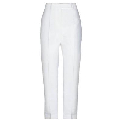 ハイダー アッカーマン HAIDER ACKERMANN パンツ ホワイト 34 コットン 83% / シルク 17% パンツ