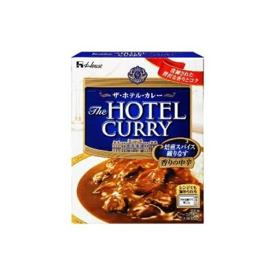 ハウス食品 ザホテルカレー香りの中辛 180g×10個