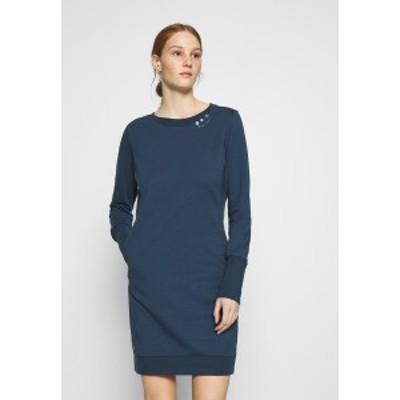 ラグウェア レディース ワンピース トップス MENITA - Day dress - denim blue denim blue