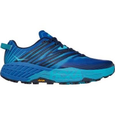 ホッカオネオネ メンズ ランニング スポーツ Speedgoat 4 Running Shoe - Men's Turkish Sea/Scuba Blue