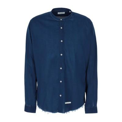 TINTORIA MATTEI 954 シャツ ブルー 43 コットン 100% シャツ