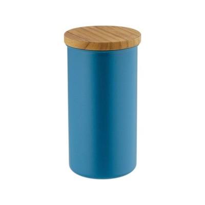 高桑金属 ステンレスコーヒーキャニスター L ブルー FKK0404