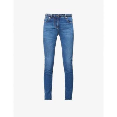 ヴァレンティノ VALENTINO レディース ジーンズ・デニム ボトムス・パンツ Skinny mid-rise jeans Medium Blue Denim