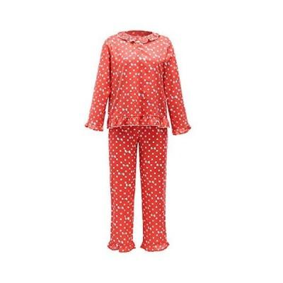 Long Sleeve Pajamas for Women Pajama Sets Pants with Print Short Tops Sleep