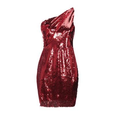 コンタット KONTATTO ミニワンピース&ドレス レッド M レーヨン 95% / ポリウレタン 5% / ポリエステル ミニワンピース&ドレス
