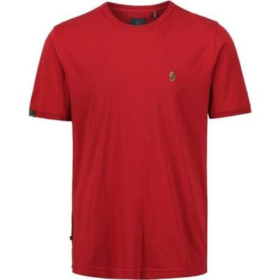 ルーク Luke メンズ Tシャツ トップス Traffs T-Shirt Deep Red
