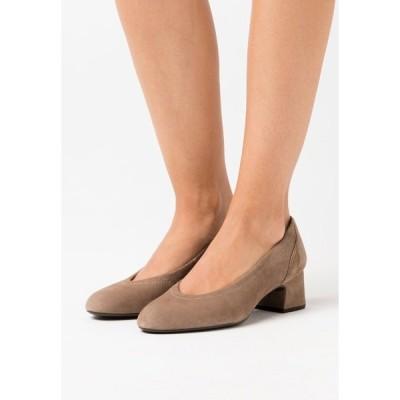 ウニサ ヒール レディース シューズ LAMA - Classic heels - taupe