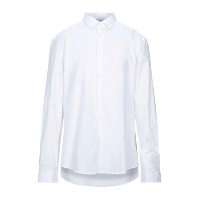 VERSACE COLLECTION シャツ ホワイト 45 コットン 97% / ポリウレタン 3% シャツ
