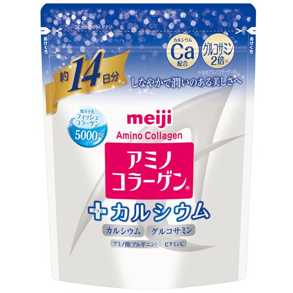 meiji明治膠原蛋白粉加鈣14日份袋裝