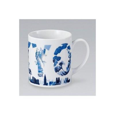 陶里 第30集 80mmマグブルー&ホワイト TOKYO 86107-380