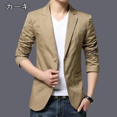 ビジネススーツ メンズ テーラードジャケット 2つボタン ブレザー チェスター スーツ ビジネス カジュアル 紳士用 アウター 大きいサイズ