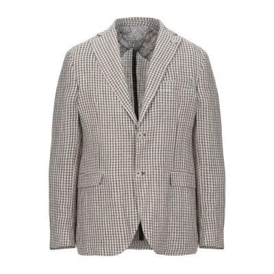 BARBATI テーラードジャケット ベージュ 56 麻 70% / コットン 30% テーラードジャケット