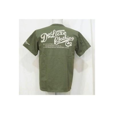 BRG-01B-GRN19-ブランドロゴTシャツ01B-BRG01B-DELUXEWARE-デラックスウエアTシャツ