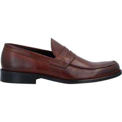 アンジェロ パロッタ ANGELO PALLOTTA メンズ ローファー シューズ・靴 Loafers Brown