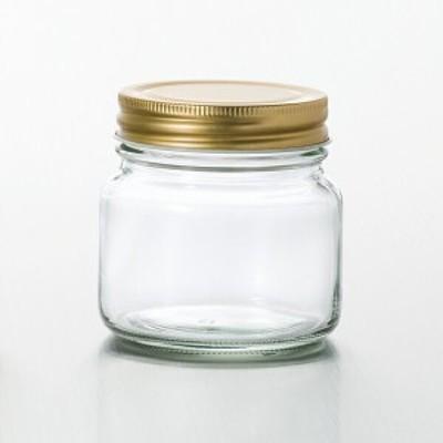 【日本製】金キャップ保存びんシリーズ / 金キャップ保存びん225 (275ml) [3個入り]  アデリア