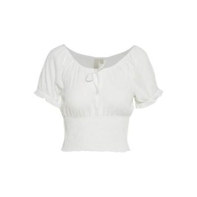 ピーシーズ プティ レディース Tシャツ トップス PCANNIE - Basic T-shirt - cloud dancer cloud dancer