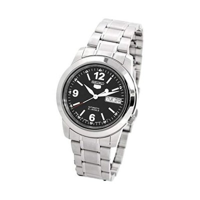 【並行輸入品】Seiko SNKE63J1 Mens 5 Automatic Black Dial Stainless Steel Watch