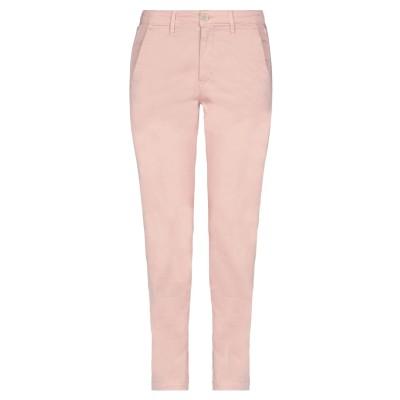 BARBA Napoli パンツ ピンク 26 コットン 98% / ポリウレタン 2% パンツ