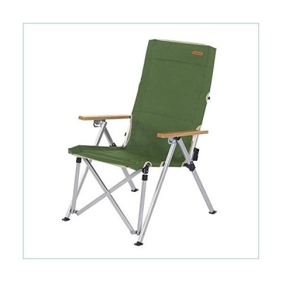 Portable Outdoor Camping Supplies Heavy Duty Folding Arm Chair Oversized Camping Chair Portable Padded Chair Lumbar Back Support, Heavy Duty and Durab