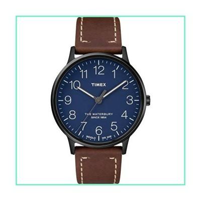 Timex Waterbury Classic 40mm Leather Strap Watch TW2R25700並行輸入品