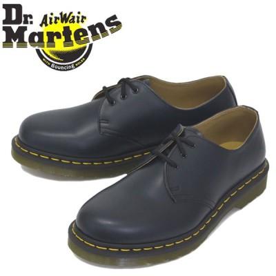 Dr.Martens (ドクターマーチン) 26226410 1461 3EYE レザーシューズ NAVY SMOOTH