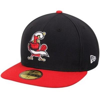 ニューエラ メンズ 帽子 アクセサリー Springfield Cardinals Authentic Collection On-Field 59FIFTY Fitted Hat Navy/Red