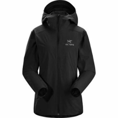 (取寄)アークテリクス レディース ガマー SL フーデッド ジャケット Arc'teryx Women Gamma SL Hooded Jacket Black
