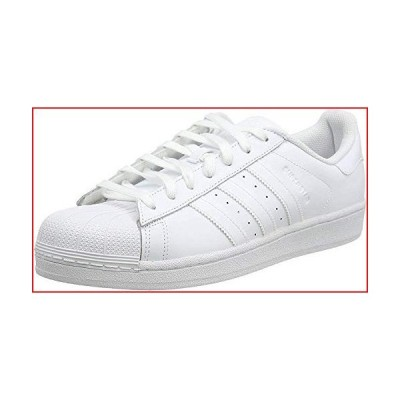 Adidas Mens Superstar Foundation White Leather Trainers 14 US【並行輸入品】
