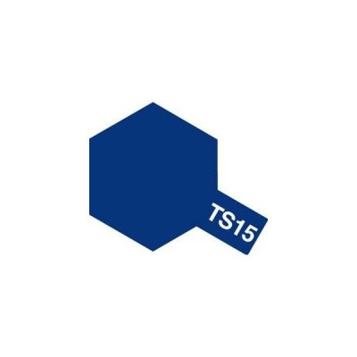 タミヤカラー TS-15 ブルー つやあり スプレー塗料(ミニ)【RCP】