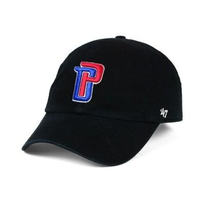 47ブランド 帽子 アクセサリー メンズ Detroit Pistons CLEAN UP Cap Black