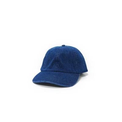 NEWHATTAN ニューハッタン デニムキャップ  キャップ 帽子 ダークブルー