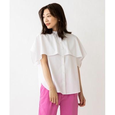 シャツ ブラウス 【SONO/ソーノ】フラップカーブヘムシャツ