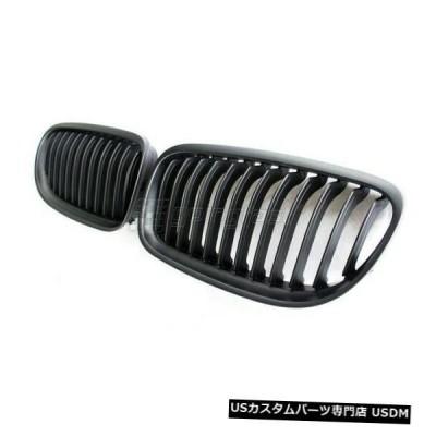 ラジエーターカバー BMW 3シリーズLCIフェイスリフトE90 E91マットブラックキドニーユーロスポーツグリルM 09-11  BMW 3 Ser