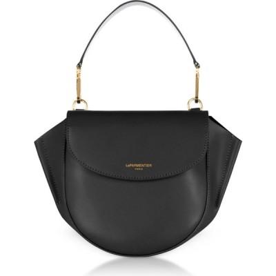 ル パルマンティエ Le Parmentier レディース ショルダーバッグ バッグ Astorya Leather Mini Bag w/Shoulder Strap Caviar Black