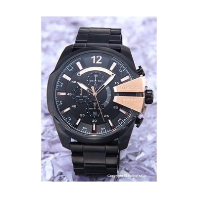 ディーゼル 時計 メンズ DIESEL 腕時計 DZ4309 メガチーフ クロノグラフ オールブラック