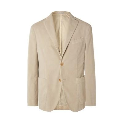 ボリオリ BOGLIOLI テーラードジャケット アイボリー 46 コットン 98% / ポリウレタン 2% テーラードジャケット
