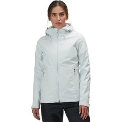 ノースフェイス レディース ジャケット・ブルゾン アウター Arrowood Triclimate Hooded 3-In-1 Jacket Tin Grey/Tnf White
