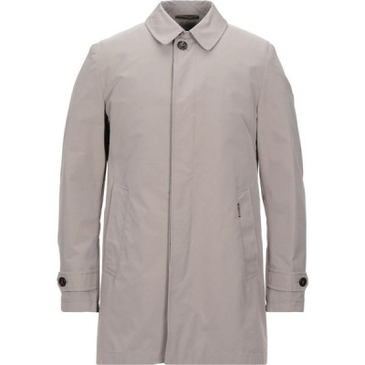 ムーレー MOORER メンズ ジャケット アウター full-length jacket Light grey