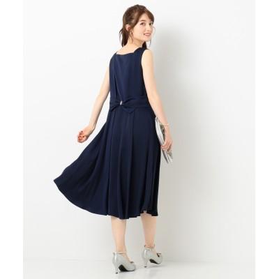 【洗える!】バックシャンリボン ドレス