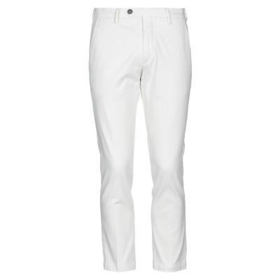 MICHAEL COAL パンツ ホワイト 35 コットン 98% / ポリウレタン 2% パンツ