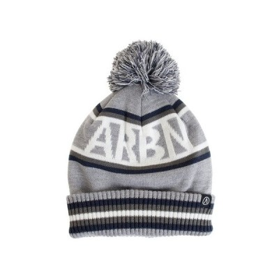 エアボーン(ARBN) BORDER LOGO WATCH ニットキャップ AB03AC1256 GRY オンライン価格 (キッズ)