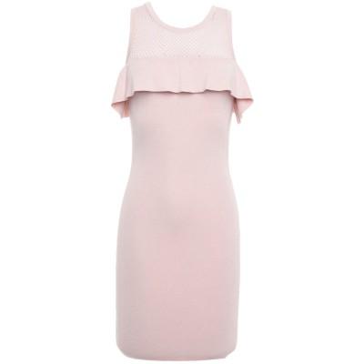ゲス GUESS ミニワンピース&ドレス ライトピンク XS レーヨン 90% / ポリエステル 10% ミニワンピース&ドレス