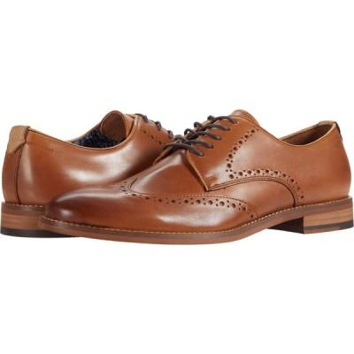 ジョンストン&マーフィー Johnston & Murphy メンズ 革靴・ビジネスシューズ ウイングチップ シューズ・靴 Haywood Wing Tip Tan Full Grain Leather