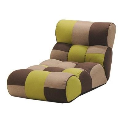 ソファー座椅子/フロアチェア 〔FOREST フォレスト〕 ワイドタイプ 41段階リクライニング 『ピグレットJrロング』